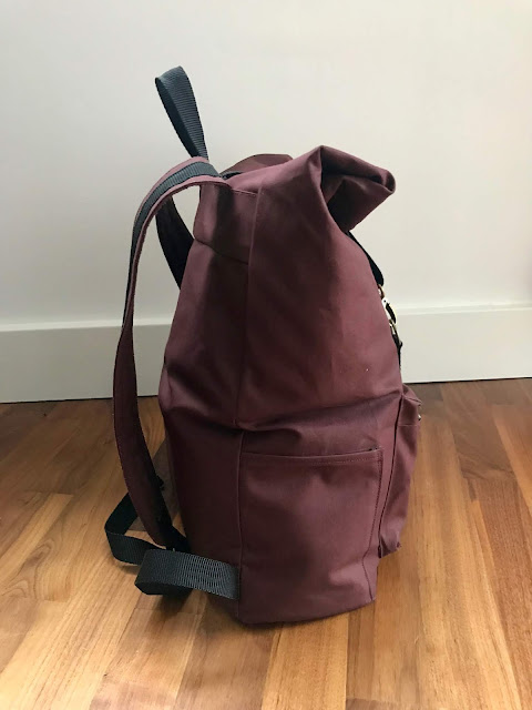 Diary of a Chain Stitcher: Taylor Tailor Desmond Backpack in Waxed Cotton from Cloth House