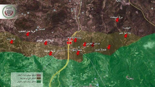 Video: Aksi Pejuang Suriah di Jabal al-Akrad