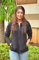 Actress Ritika Singh Stills at Guru Movie Success meet  0022.JPG