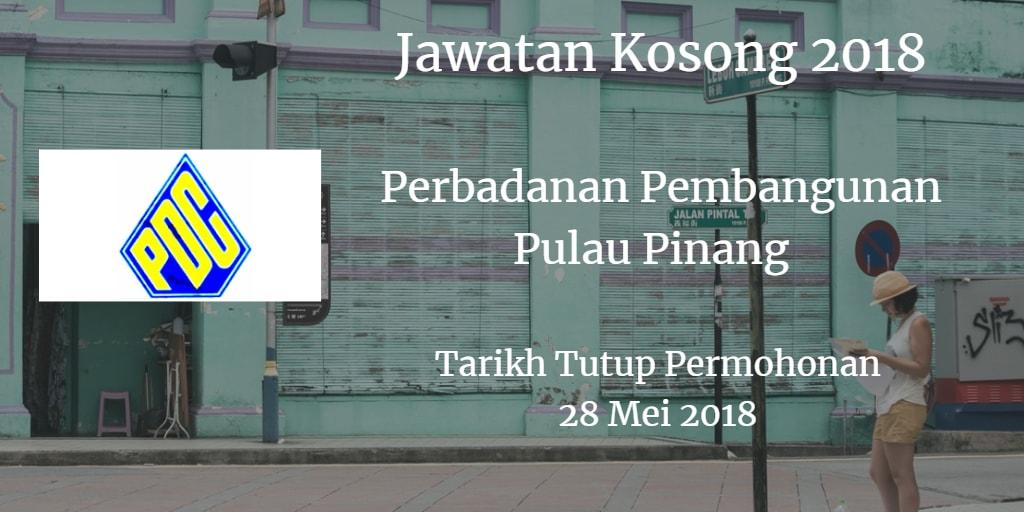 Jawatan Kosong PDC 28 Mei 2018