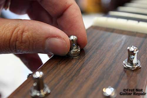 guitar repair blog loose tuning machine bushings