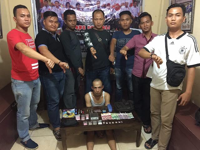 Buser Polsek Talang Ubi Ringkus Bandar Sabu