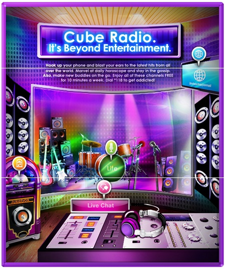 Tune in to Cube Radio for content that will make you smile every time.