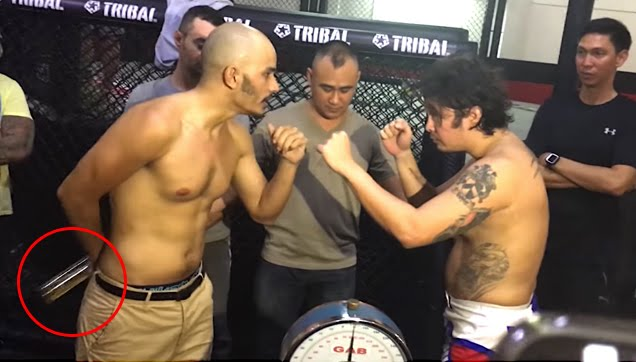 Kiko Matos and Baros Geisler Weigh-in