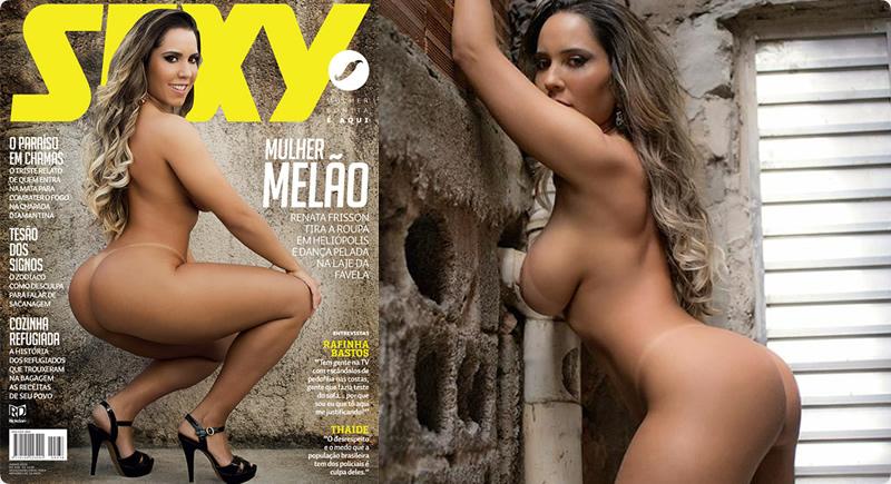 Revista Sexy Junho – Mulher Melão nua
