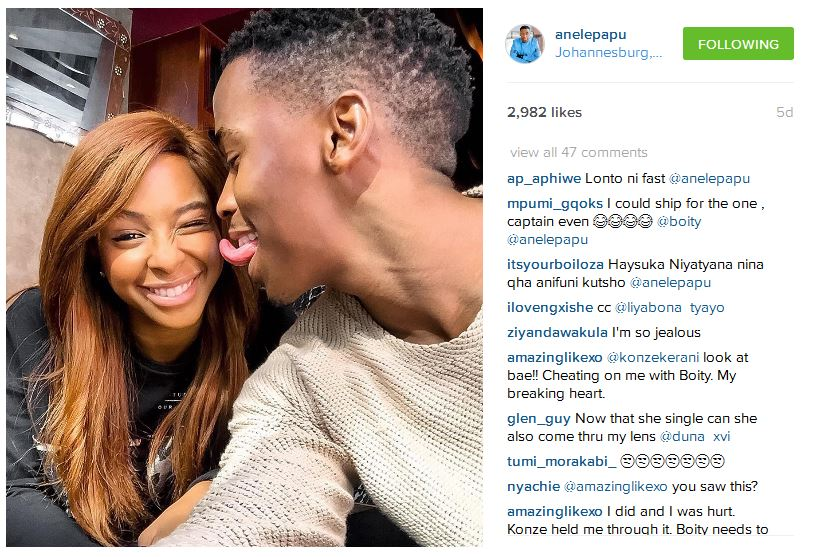 casper and boity dating after divorce