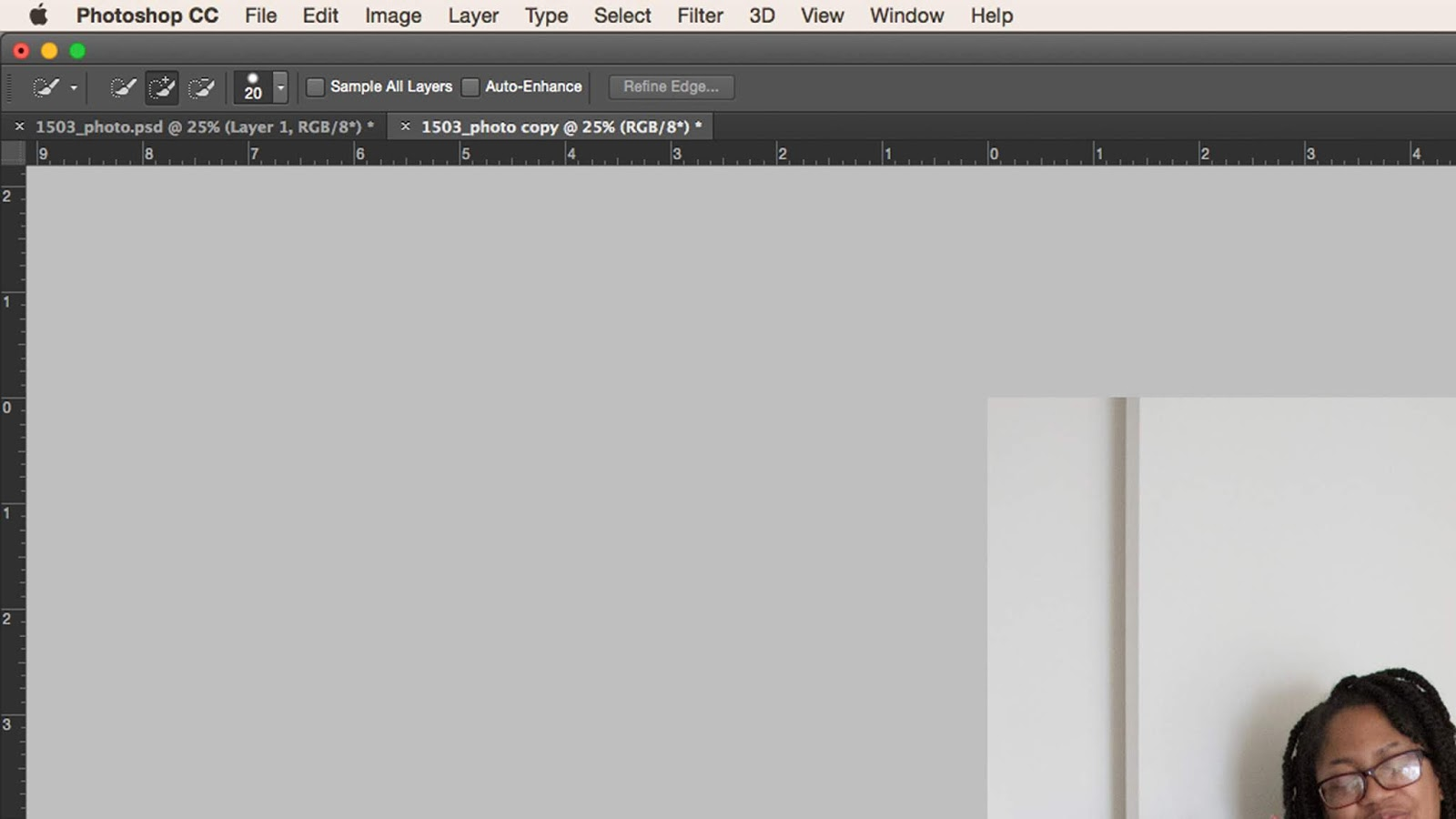 How to remove background in photoshop cc