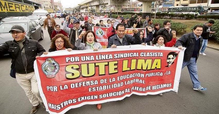 Desde hoy reemplazantes de docentes en huelga pueden ingresar a las aulas