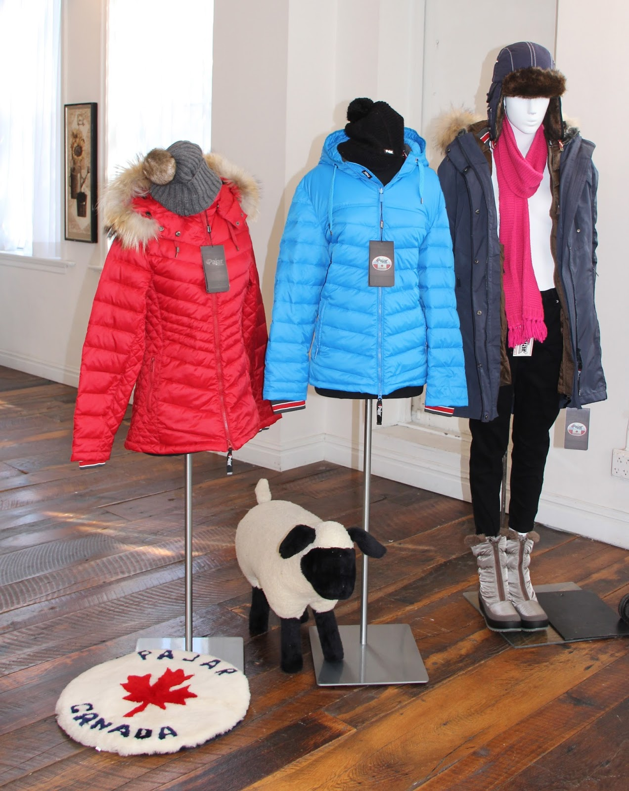 40f71f661c down jackets are tapered to flatter and quilting pattern-chevron like- is  fitted...belt them too for more definition. Middle Courtney and  Left-Samantha-hit ...