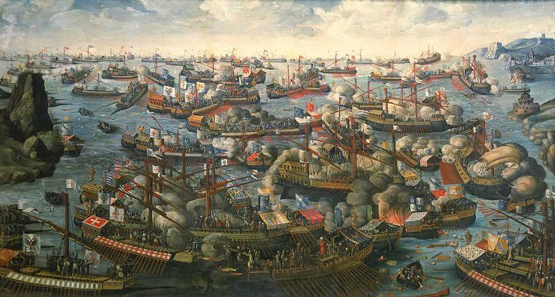 Pertempuran Lepanto, 7 Oktober 1571