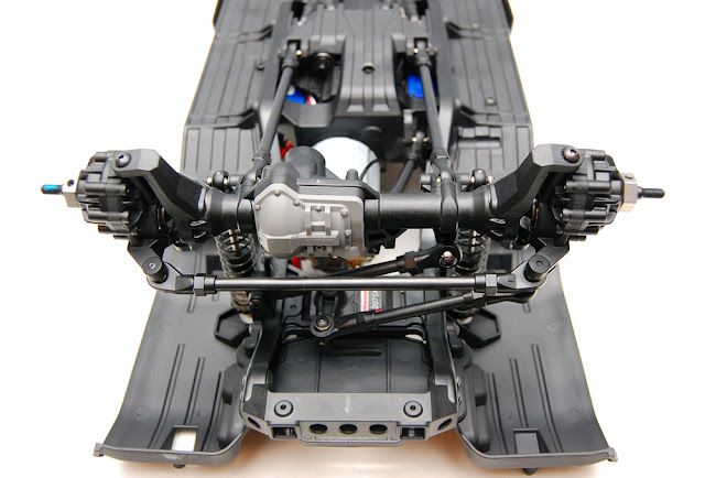 Traxxas TRX-4 front axle install