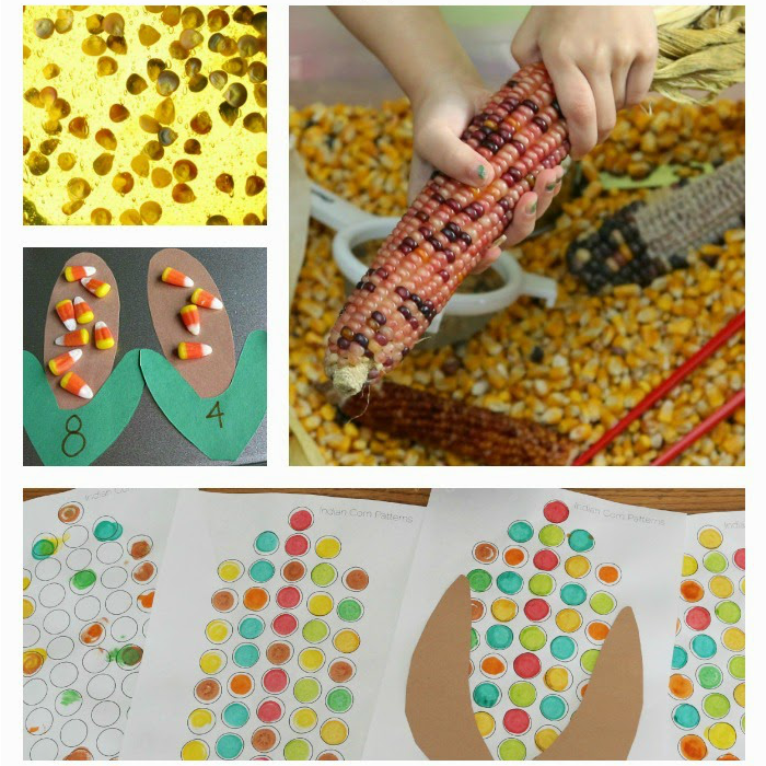 Indian Corn Ideas for Kids