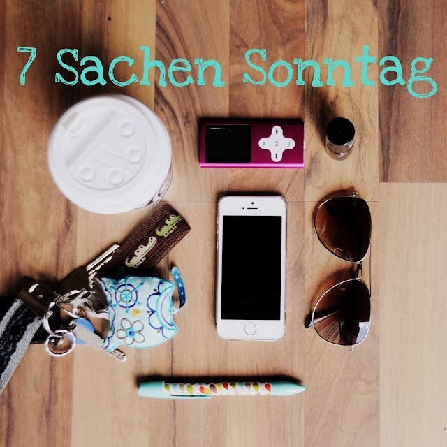 GrinseStern, Sieben Sachen Sonntag, Sieben Sachen, 7 Sachen, mein tag in bildern