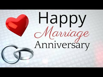 Happy marriage Anniversary with love