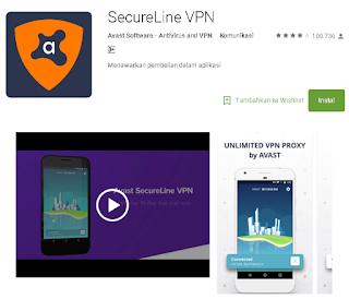 Secureline VPN untuk Android