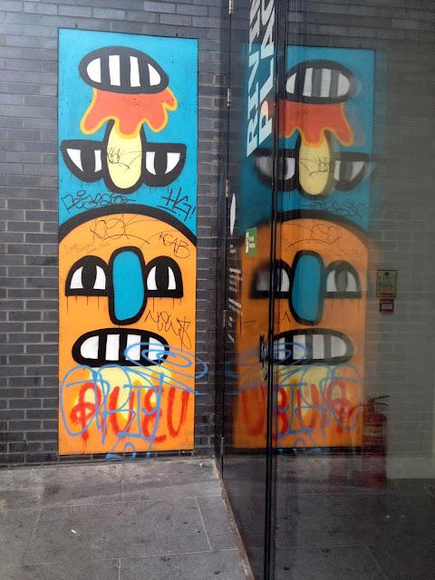 arte callejero en shoreditch lodnres