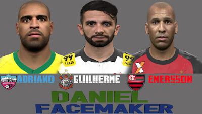 PES 2016 Mini Facepack by Daniel FaceMaker