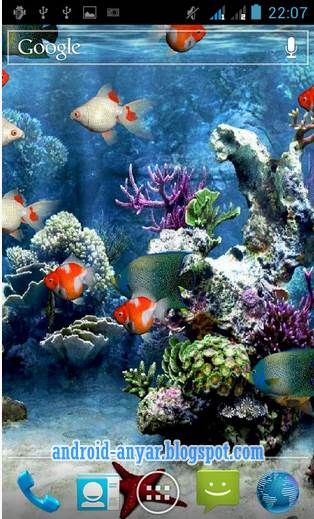 Download Aquarium Live Wallpaper Hidup APK Android Animasi Bergerak