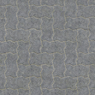 Tileable concrete brick pavement texture 1024px
