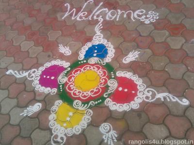 Welcome Rangolis