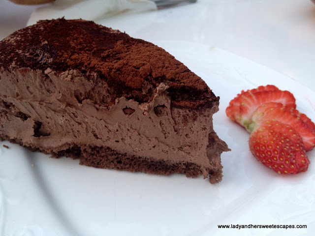 Arabian Tea House Chocolate Cake