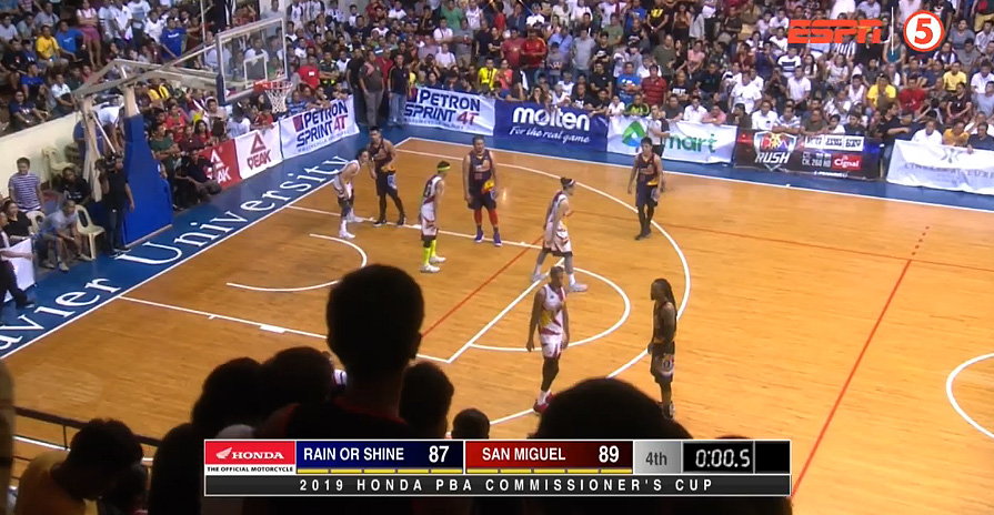 San Miguel def. Rain or Shine, 89-87 (REPLAY VIDEO) July 13