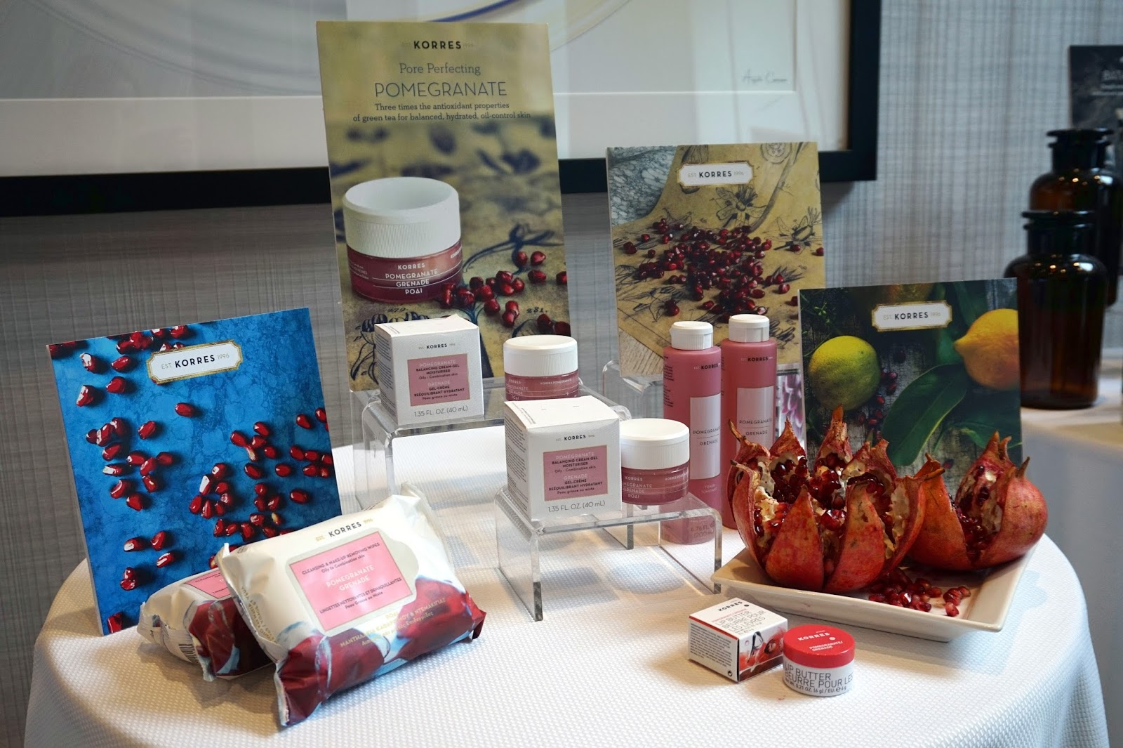 korres skincare pomegranate