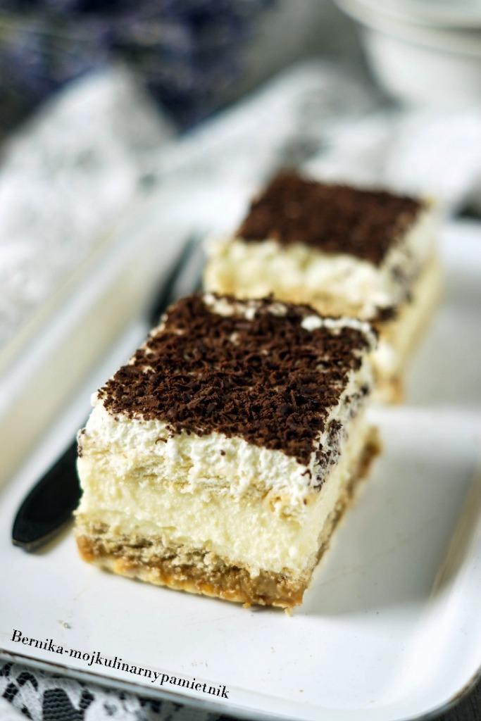 Ciasto 3 Bit Na Herbatnikach Bernika Moj Kulinarny Pamietnik