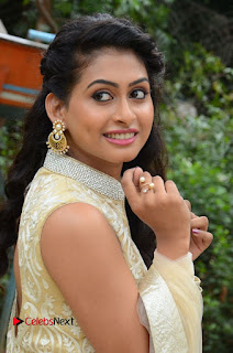 Actress Nithya Pictures in Long Dress at Nandini Nursing Home First Look Launch  0046.JPG