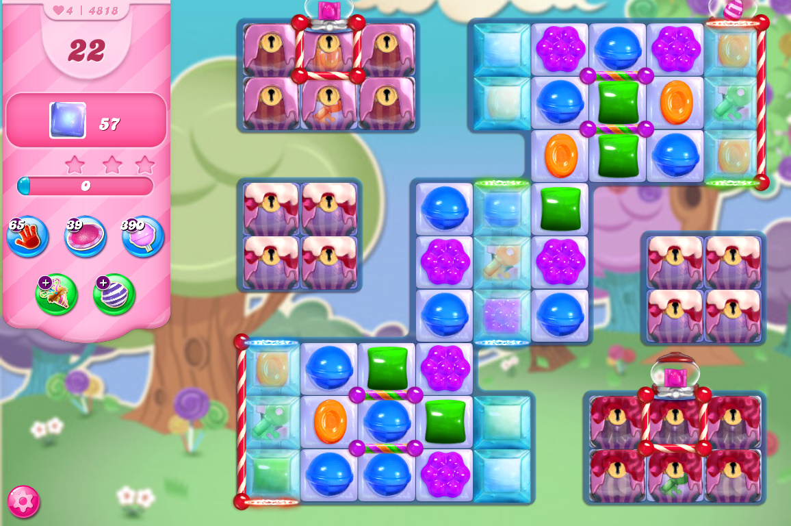 Candy Crush Saga level 4818