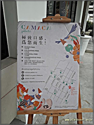 CAMACA Gelato, Kota Kinabalu