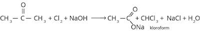 reaksi pembuatan kloroform
