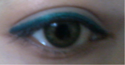 maybelline eyeliner pencil peacock green