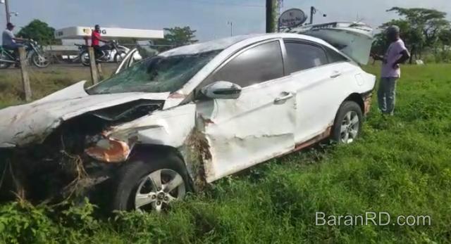 Video: Accidente deja cinco heridos en SFM; el chofer se durmió