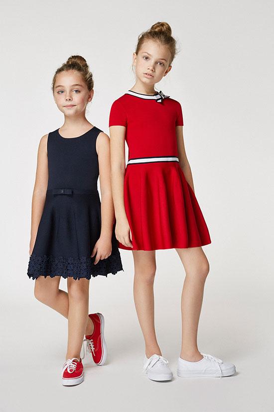 Vestidos para niñas primavera verano 2018 moda 2018.