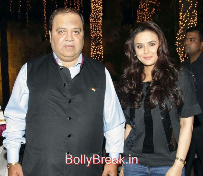 Kishor Dhingra, Preity Zinta, Hot HD Images of Priety Zinta at Aakash Dingra's 7th Birthday Bash