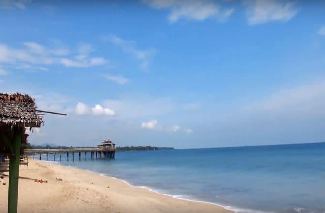 Pantai Sambolo di Serang Banten, Wisata Alam dengan Pasir Putih yang Memukau