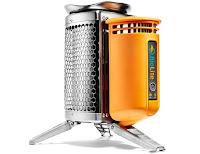 Καμινέτο βιομάζας-γεννήτρια ρεύματος usb μικροσυσκευών (BioLite CampStove)