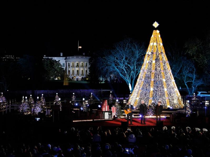 Average Socialite™: 2018 National Christmas Tree Lighting Ceremony, DC