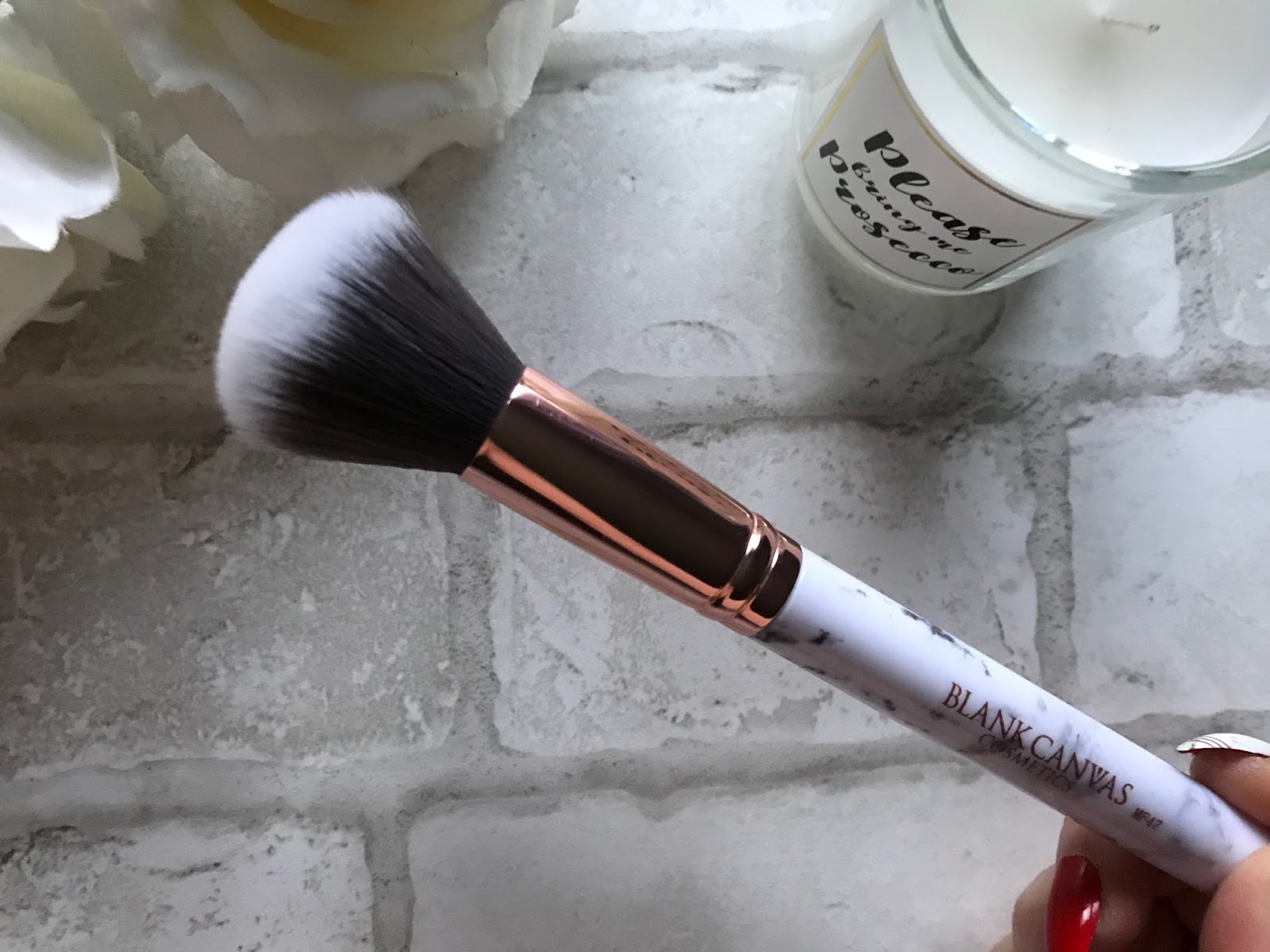 Blank Canvas Cosmetics Magnimarble Makeup Brush Set