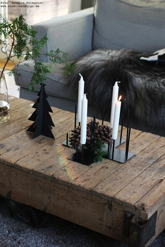 annelies design, webbutik, webshop, gran, granar, jul, julpynt, candle cross, ljusstake, ljusstakar, advent, adventsljusstake, dekoration, inredning, fårskinn, Oohh,