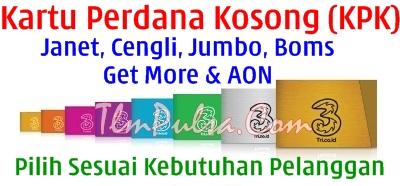 Harga Inject Tembak KPK 3 Tri  Termurah TLM Reload Agen Bisnis Pulsa Online Termurah Tangerang Jakarta Bogor Bekasi