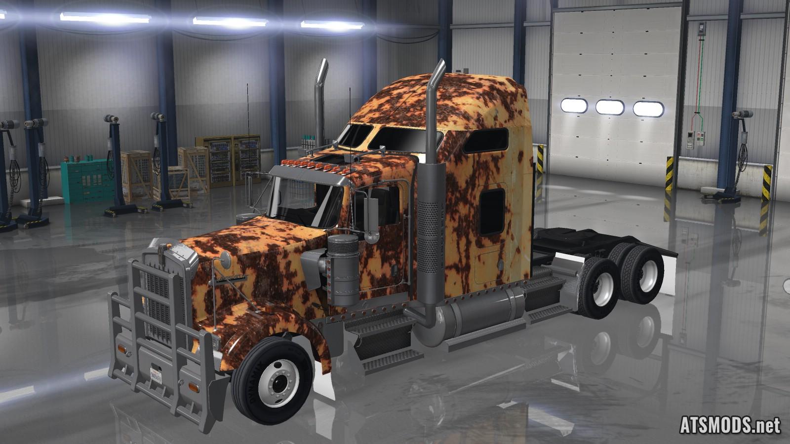 Rusty Skin for Kenworth W900