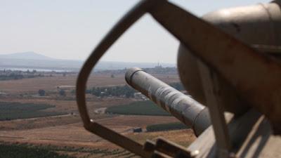 la proxima guerra ejercito israeli patrullando altos del golan siria