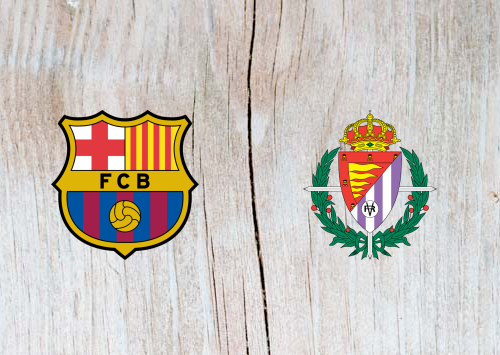 Barcelona vs Real Valladolid Full Match & Highlights 16 February 2019