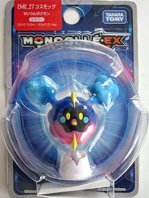 Cosmog figure Takara Tomy Monster Collection MONCOLLE EX EMC series