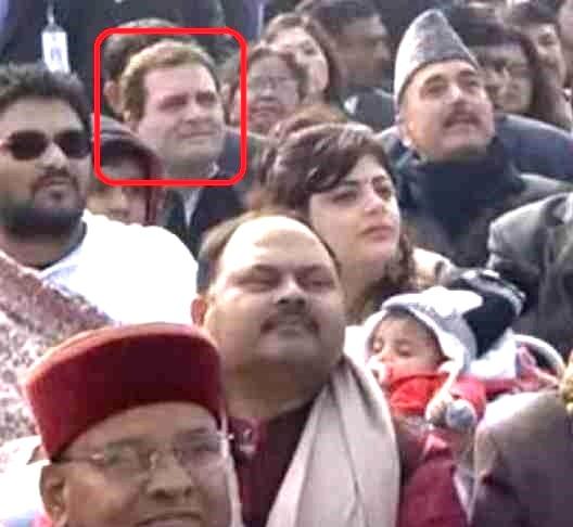 इसलिए राहुल गांधी को छठी पंक्ति में बैठाया गया था- गणतंत्र दिवस समारोह में
