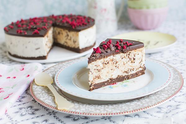 PUNTXET Receta tarta de stracciatella fácil y sin horno #receta #recipe #tratas #cake