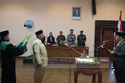DPRD Grobogan Angkat Anggota Baru Pergantian Antar Waktu