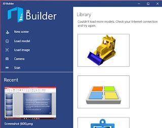 3D Builder : Talkontable